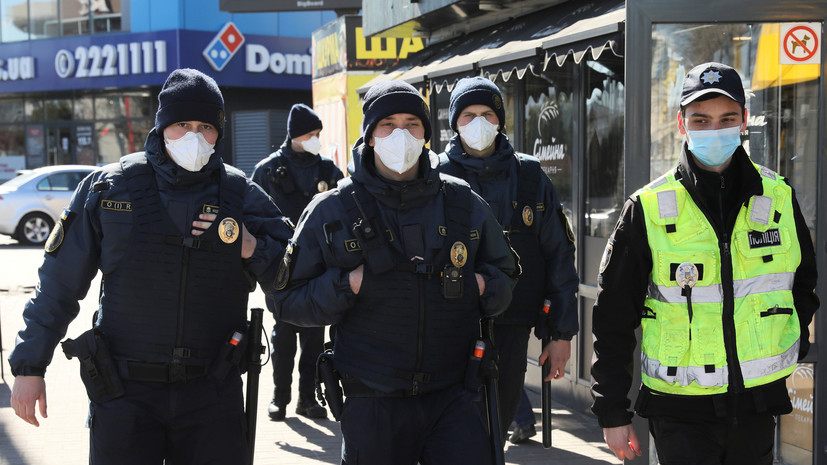 На Украине ввели режим ЧС из-за коронавируса