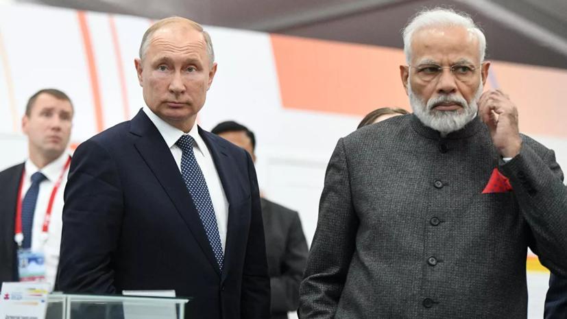 Путин и Моди обсудили меры по борьбе с распространением коронавируса