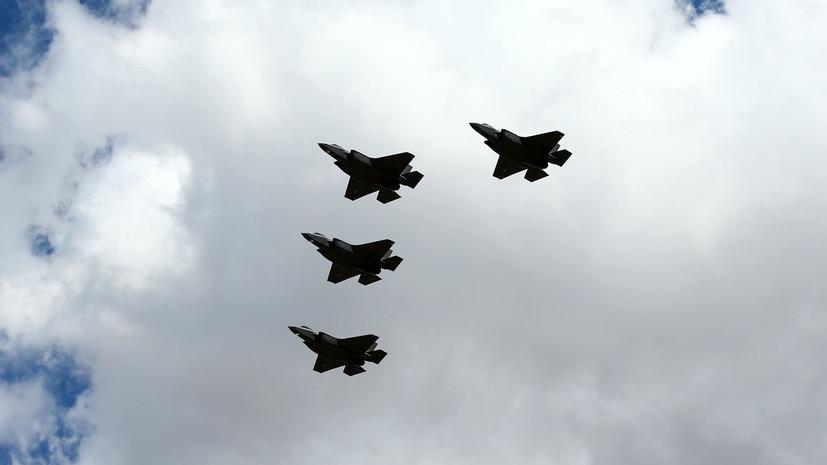 Технические неполадки: в США рассказали о проблемах в работе одной из систем истребителя F-35