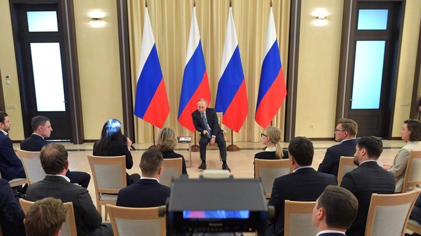 «Два-три месяца — неплохой прогноз»: Путин оценил возможные сроки выхода России из ситуации с коронавирусом