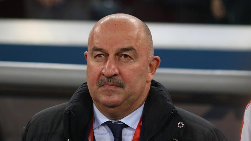Черчесов заявил, что ни разу не пересматривал матчи ЧМ-2018