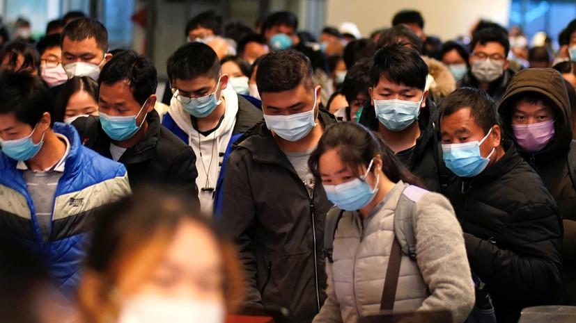 В Китае не выявили новых случаев передачи COVID-19 внутри страны