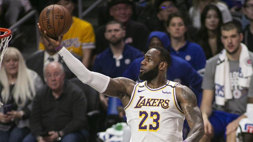 Баскетболист НБА Энтони рассказал, как Джеймс спас ему жизнь