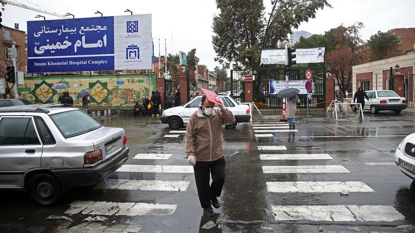 Число заражённых COVID-19 в Иране превысило 35 тысяч