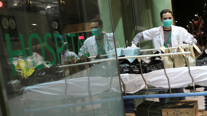 В Испании за сутки от коронавируса скончались более 800 человек
