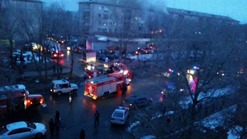 В Магнитогорске арестован подозреваемый по делу о взрыве газа в доме