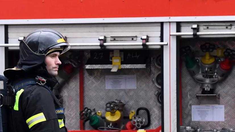 Пожар в пяти домах под Владимиром локализован
