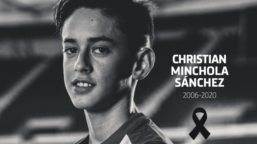Футболист академии мадридского «Атлетико» умер в возрасте 14 лет