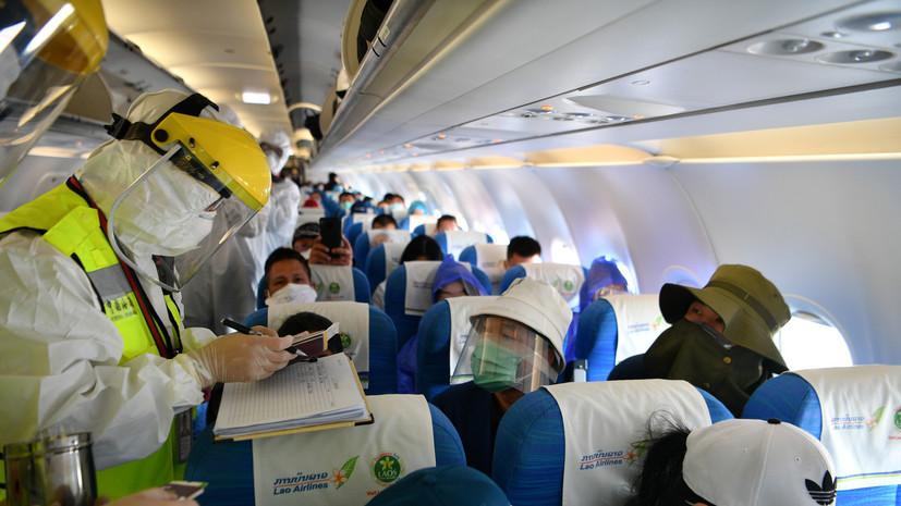 В провинции Хубэй возобновилось внутреннее пассажирское авиасообщение