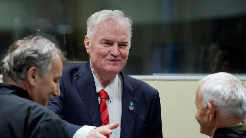 Сын Ратко Младича рассказал о состоянии отца после операции