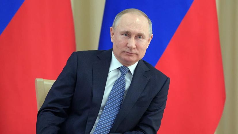 Песков заявил, что режим работы Путина останется прежним