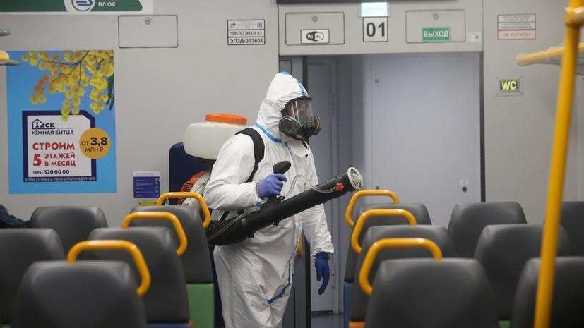 Ограничительные меры для транспорта в Москве не предусмотрены