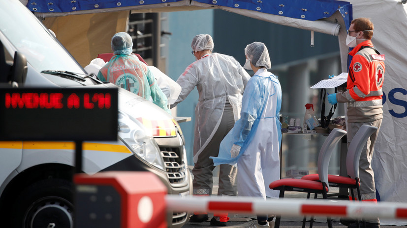 Во Франции от коронавируса за сутки умерли 292 человека