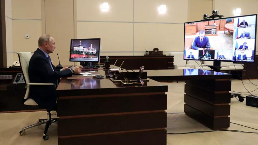 Путин призвал регионы принимать больных из других субъектов России