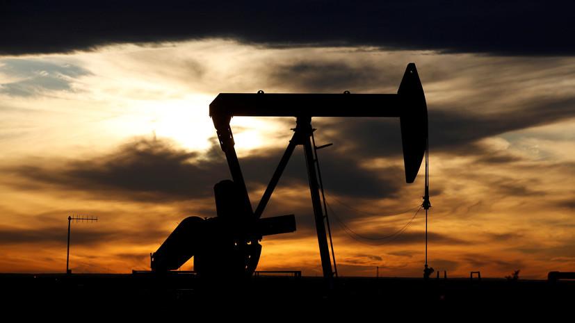Цена нефти Brent упала до $22,38 за баррель