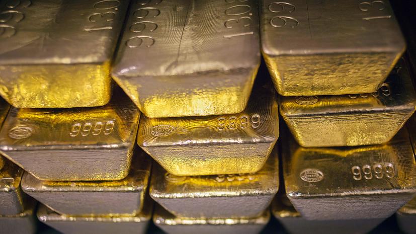 ЦБ приостанавливает с 1 апреля покупку золота на внутреннем рынке