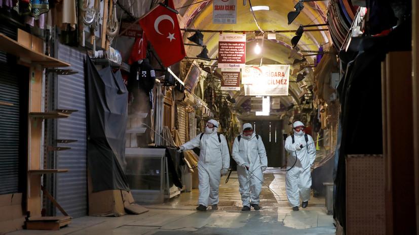Житель Стамбула прокомментировал ситуацию с коронавирусом в Турции