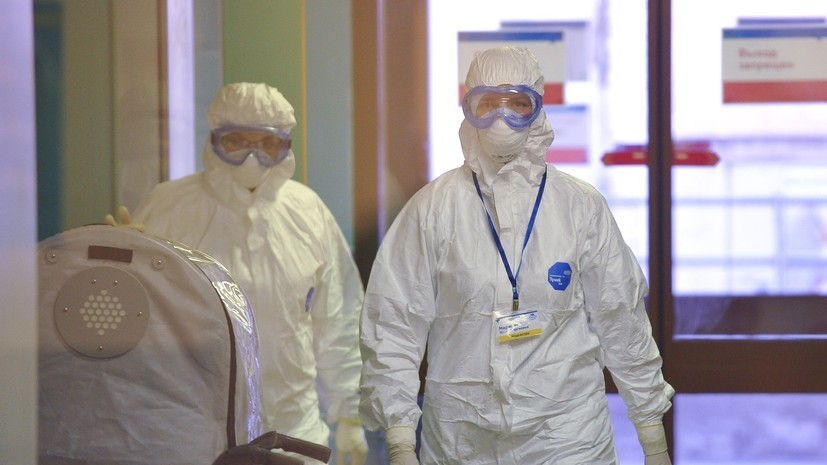 Более 200 тысяч человек в России из-за коронавируса наблюдают медики