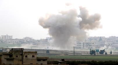 SANA: армия Сирии сбила турецкий беспилотник в Идлибе