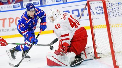 Хет-трик Кузьменко, три очка Шумакова и массовая драка в Нур-Султане: фавориты начали с уверенных побед плей-офф КХЛ