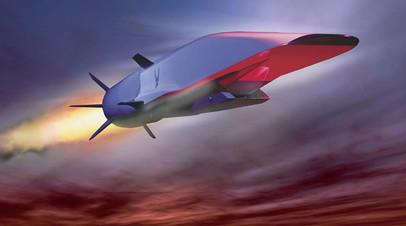 Прототип гиперзвуковой ракеты США X-51A Waverider
