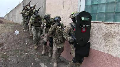 Антитеррористические командно-штабные учения оперативного штаба в Саратовской области