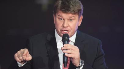 Губерниев не полетит на этап КМ по биатлону в Нове-Место из-за коронавируса