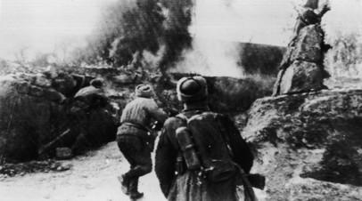 Советские войска в боях за освобождение Будапешта, февраль 1945 года