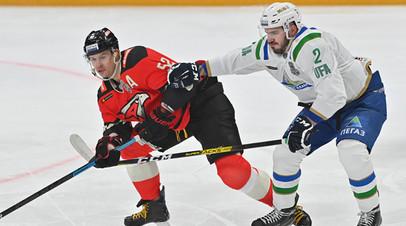 «Салават Юлаев» победил «Авангард» в овертайме и сравнял счёт в серии плей-офф КХЛ