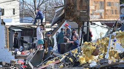 В Теннесси не менее 25 человек погибли от торнадо