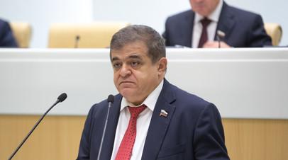 Джабаров оценил высказывание Зеленского по Донбассу