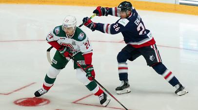 «Ак Барс» обыграл «Нефтехимик» в матче первого раунда плей-офф КХЛ