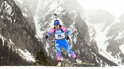 Финиш в пятёрке: россиянки остались без медалей в женской эстафете на этапе КМ по биатлону в Нове-Место
