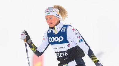 Лыжница Карлссон выиграла королевский марафон на этапе КМ в Норвегии, Непряева — пятая