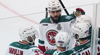 «Ак Барс» одолел «Нефтехимик» и вышел во второй раунд плей-офф КХЛ
