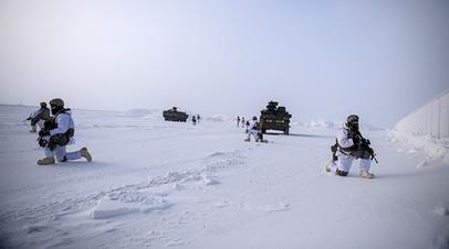 Американские военные на Аляске