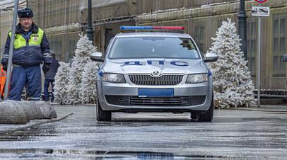 ГИБДД Москвы призывает водителей быть осторожными на дорогах