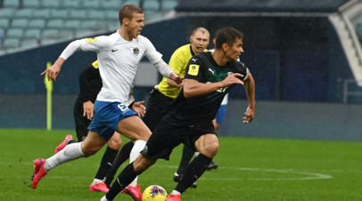 Кокорин признан лучшим футболистом матча «Сочи» — «Краснодар»
