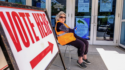 Избирательный участок в Майами