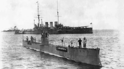 Российская подводная лодка «Акула», разработанная по проекту И. Г. Бубнова