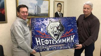 ХК «Нефтехимик» объявил об уходе Бикмурзина с поста президента клуба