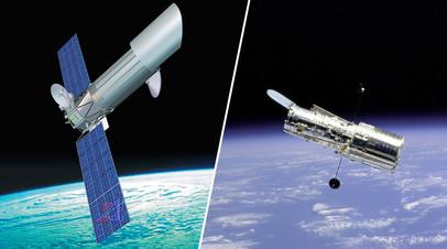 Космические обсерватории «Спектр-УФ» и «Хаббл»