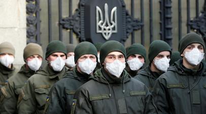 Сотрудники Нацгвардии Украины