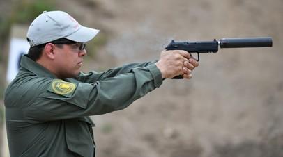 Пистолетный комплекс «Удав» с глушителем