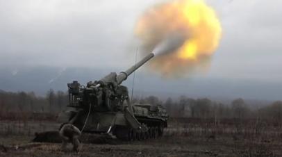 Учебные стрельбы из «Тюльпанов» и «Пионов» в Северной Осетии — видео