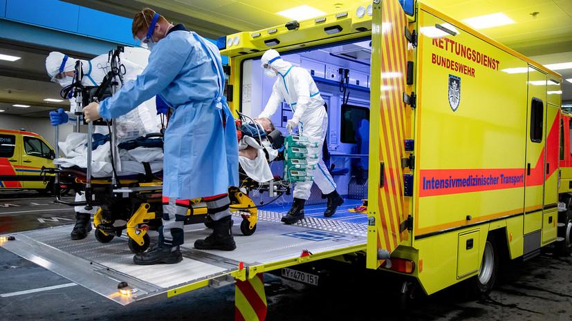 Число заражённых коронавирусом в Германии превысило 67 тысяч