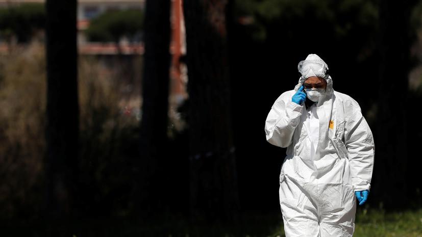 Число жертв коронавируса в Италии за сутки выросло на 727
