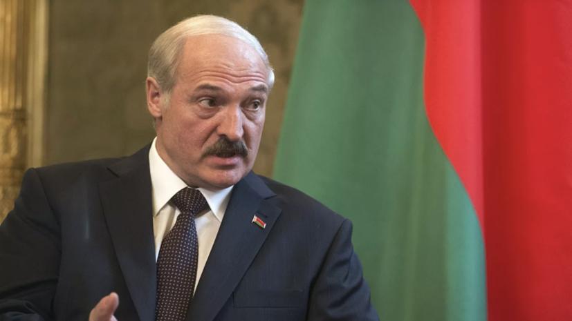 Лукашенко поздравил Путина с Днём единения народов Белоруссии и России
