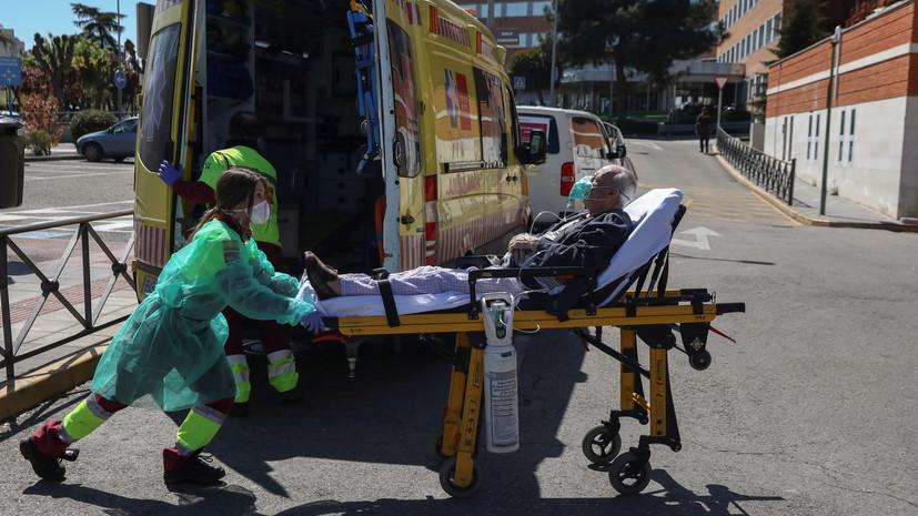 Число скончавшихся от коронавируса в Испании превысило 10 тысяч