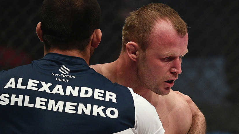 Шлеменко заявил, что нацелен на контракт с UFC и завоевание чемпионского титула